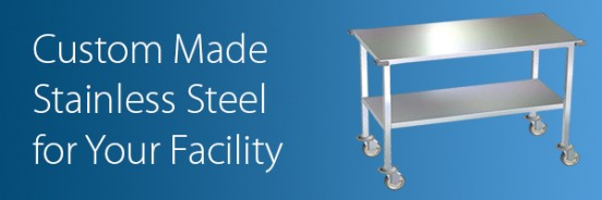 DRE Veterinary's Stainless Steel Products are Custom Made For Your Facility