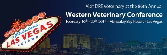 Visit DRE Veterinary in Booth 963 at WVC 2014