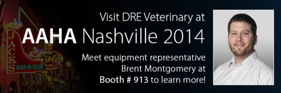 Visit Brent in booth #913 at AAHA