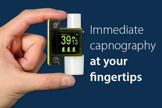 The EMMA II offers immediate capnography at your fingertips.