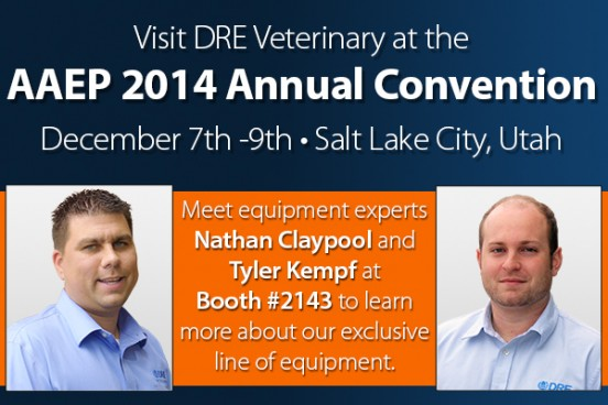 Meet equipment experts Nathan Claypool and Tyler Kempf at Booth #2143 to learn more about our exclusive line of equipment.