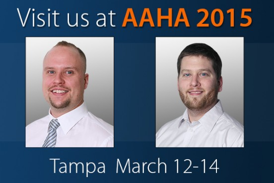 Visit us at AAHA 2015 in Tampa! March 12-14