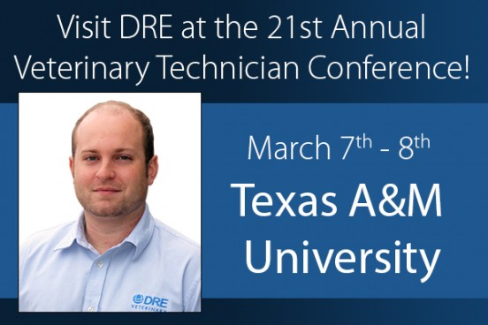 Visit DRE at the 21st Annual Veterinary Technician Conference!