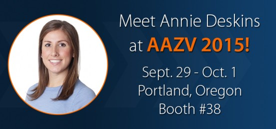 Meet Annie Deskins at AAZV 2015!