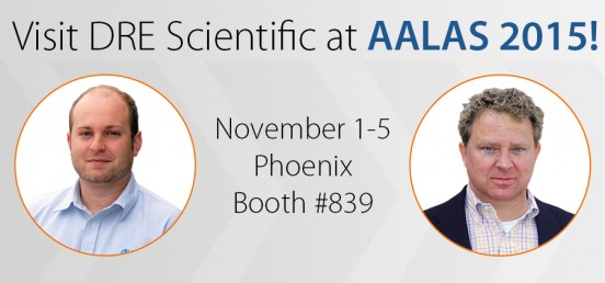 Visit DRE Scientific at AALAS 2015!