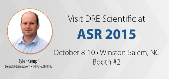 Visit DRE Scientific at ASR 2015!