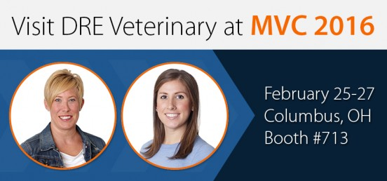 Visit DRE Veterinary at MVC 2016