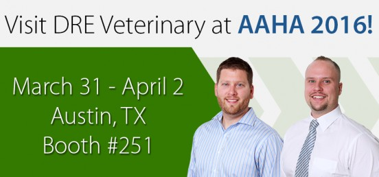 Visit DRE Veterinary at AAHA 2016!