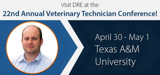 Visit DRE at the 22nd Annual Veterinary Technician Conference!