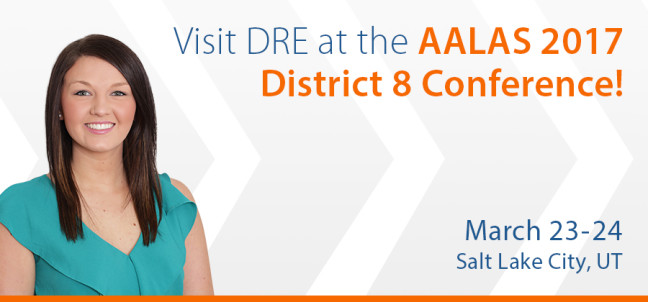 Visit DRE at the AALAS 2017 District 8 Conference!